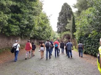 Appia Antica in Rome, Italy