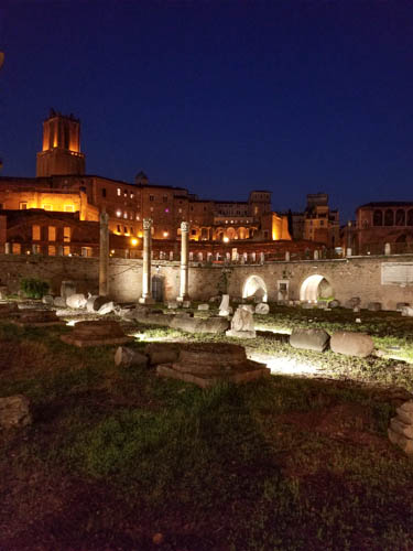 Rome Attractions: How to See the 'Forum of Caesar' Light Show