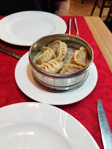 Chinese Dumplings in Rome, Italy