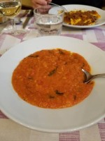 Pappa al Pomodoro from Trattoria Gozzi in Florence, Italy
