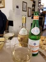 Drinks at Trattoria Enzo e Piero