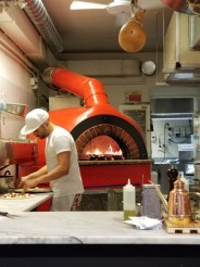 Pizzaman's wood-fired oven in Florence
