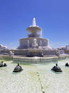 James Scott Memorial Fountain in Detroit