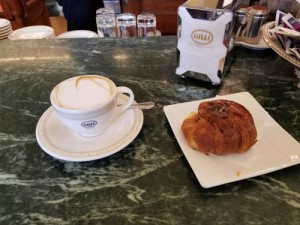 Caffe Gilli in Florence, Italy