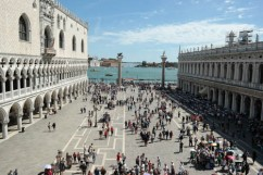 Piazzale in front of Doge's Palace