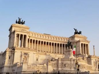 Il Vittoriano in Rome, Italy