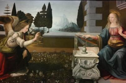 Da Vinci--The Annunciation