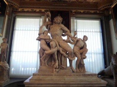 Copy of Laocoon, Uffizi Gallery, Florence, Italy