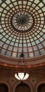 Tiffany Dome at Chicago Cultural Center