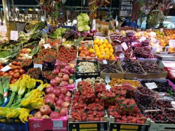 Mercato in Florence, Italy