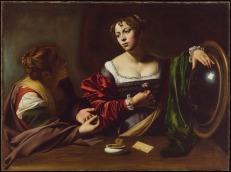 Martha & Mary Magdalene by Caravaggio c.1598