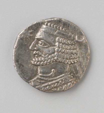Parthian drachm of Orodes 57-388 BCE