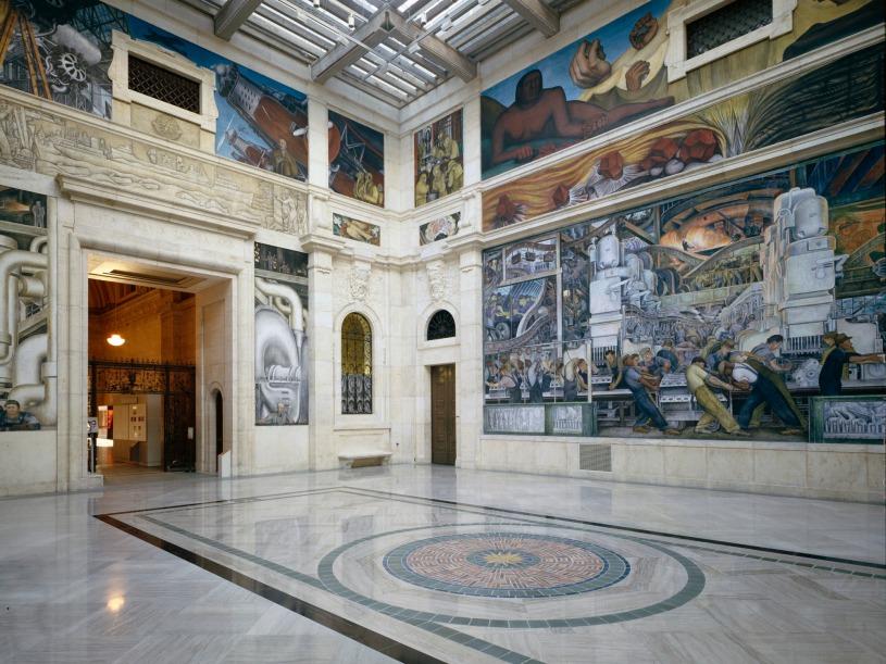 Detroit Industry Murals by Diego Rivera 1932-33, Detroit Institute of Arts