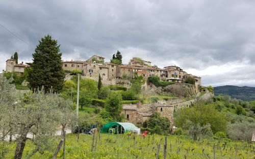 Montefioralle Winery in Chianti
