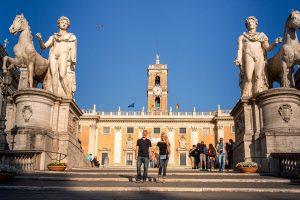 Campidoglio in Rome, Michelangelo's Staircase