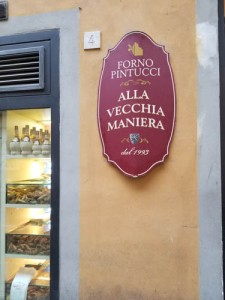 Food Tour in Florence Italy, Forno Pintucci
