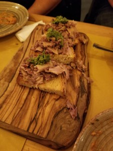 Food Tour in Florence Italy, lampredotto