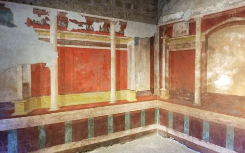 House of Augustus in Palatine Hill