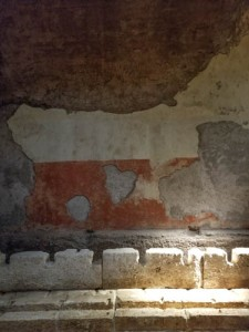 Toilets at Domus Transitoria in Palatine Hill