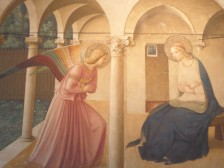 Fra Angelico's Annunciation, Florence, Italy