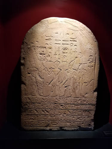 Egyptian Tablet in Vatican Museums
