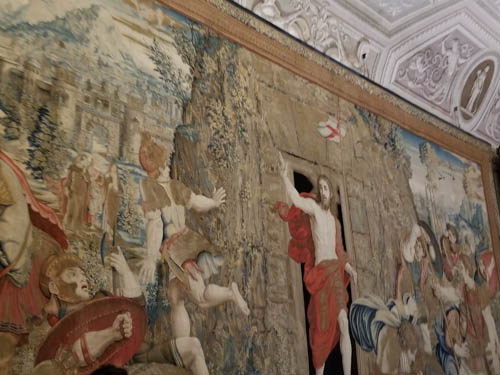 Hall of Tapestries in Vatican Museum