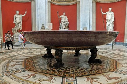 Picture of Nero's basin in Vatican Museums