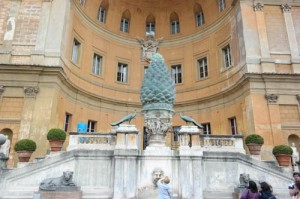 Picture of Pinecut Courtyard in Vatican Museums