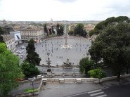 A picture of Piazza del Popolo in Rome