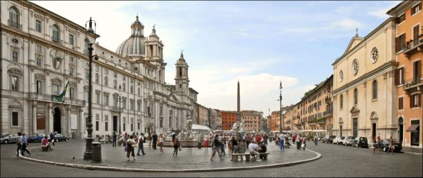Picture of Piazza Navona in Rome