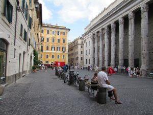 Picture of Piazza di Pietra in Rome