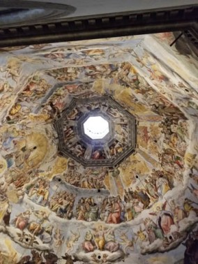 Vasari's dome in the Duomo of Florence, Italy