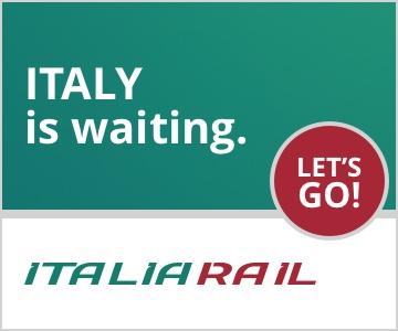Train travel by ItaliaRail