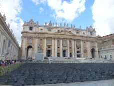 Front of St. Peter's Basilica