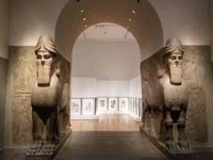 Assyrian lions, Metropolitan Museum of Art, NYC