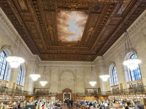 Picture of Rose Reading Room at New York Public Library