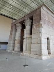 Temple of Dendur, Egypt, c. 10 BC, at Metropolitan Museum of Art, New York City