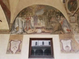 Ognissanti church, Florence, Italy