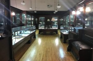 Jewelry Store exhibit at Castle Museum of Saginaw County History