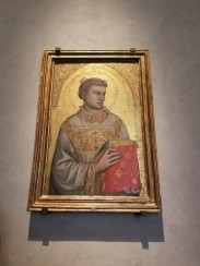 Museo Horne, Florence, Italy, Giotto painting of St. Stephen