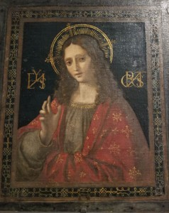 Museo Horne, Florence, Italy, painting from School of Leonardo da Vinci, Christ the Savior