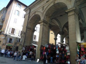 Mercato Nuovo in Florence Italy