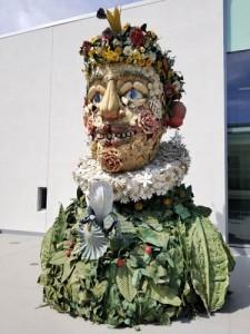 Spring Sculpture, Philip Haas, Flint Institute of Arts