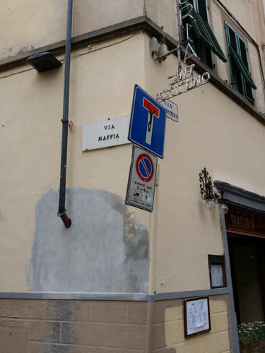 Clet Abraham, Florence, Italy, Florence street art