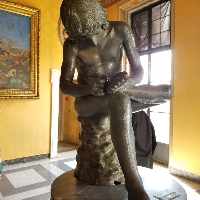Boy Extracting a Thorn, Capitoline Museum, Rome, Italy