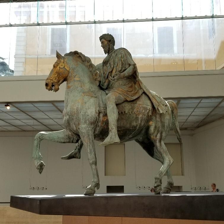 Marcus Aurelius, Capitoline Museum, Rome, Italy