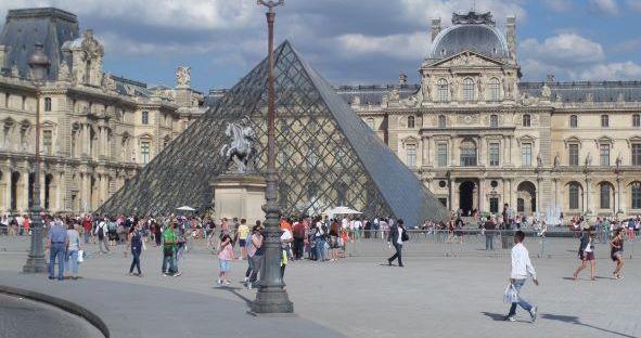 Louvre Museum, Paris Print, Paris France