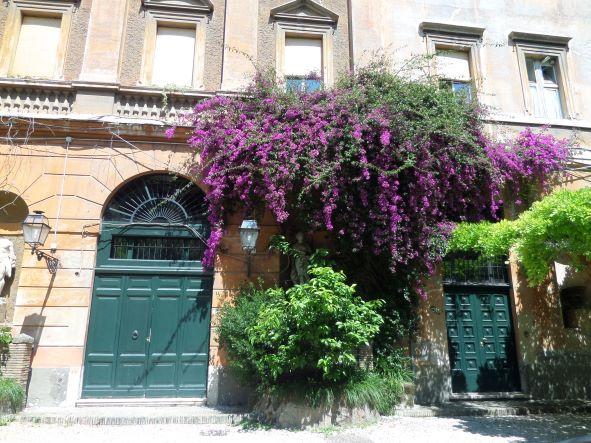 Via Margutta street scene, Rome, Italy