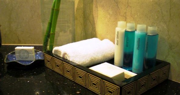 Hotel amenities and toiletries